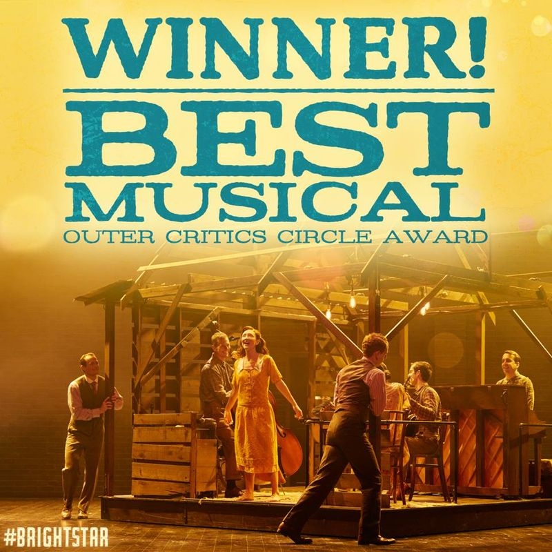 Bright Star - Outer Critics Circle - Best Musical